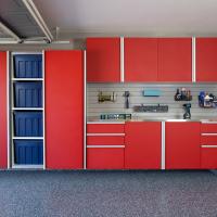 Custom garage organization system design