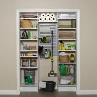 Custom utility closet design