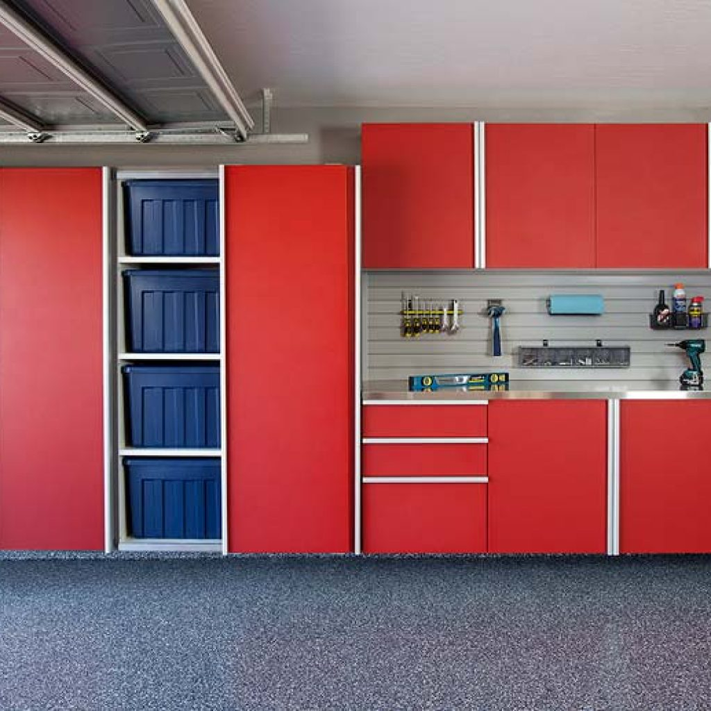 Custom garage cabinets design for home organization