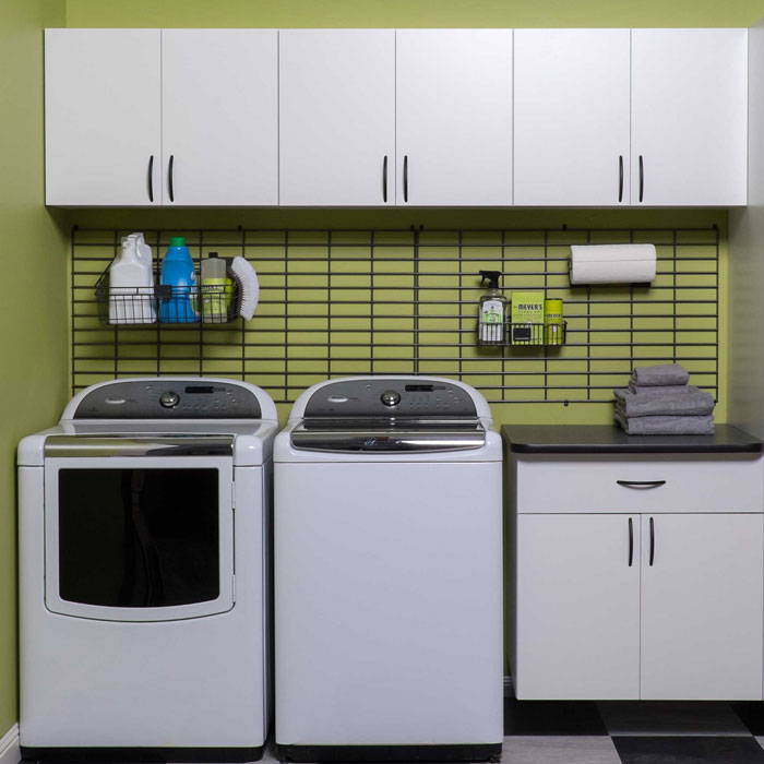 Custom laundry room design for home organization